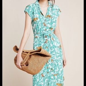 Anthropologie Maeve Catherine Shirt Dress 6